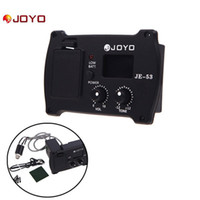 other guitar parts - 2 In Guitar Parts Equalizer and Tuner Professional Acoustic Guitar Simple Preamp Equalizer Pickup with Tuner JOYO JE I358