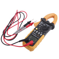 fluke multimeter - HYELEC MS2008A Professional Digital AC Clamp Meter Counts w F Back light Multimeter fluke Multimetro Clamps Leakage H11419