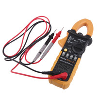 Wholesale HYELEC MS2108A Digital AC DC Clamp Meter Counts Uni t Megohmmeter Resistance Earth Tester Multimeter Multimetro H11421