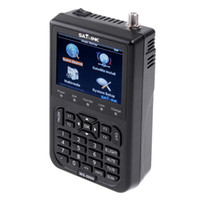 Wholesale SATlink WS quot DVB S FTA Professional Digital Satellite Signal Finder Meter Skybox Openbox azamerica azbox bravissim H4967US