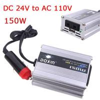 Wholesale 150W Watt Car Power Inverter Converter DC V to AC V USB Adapter Portable Voltage Transformer Car Chargers K1327US