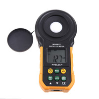 Wholesale HYELEC MS6612 Digital Lux Meter Handheld Multifunction Meter for Light Illuminance Measuring Flowmeter Nissan Primera Flow Meter H11411