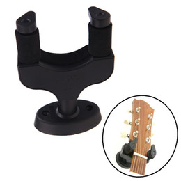 Wholesale Guitar Bass Ukelele Instrument Wall mounted Hanger Holder Stand Rack Hook Made from Strong Nylon Material Aroma AH I354