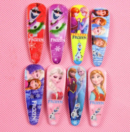 100pcs Free shipping Hot popular 2016 new frozen girls hairpins children cartoon Barrettes hair accessories princess Elsa Anna hair clips