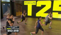 Cheap 2014 hot T25 Workout Focus MIB with Band factory sealed DHL