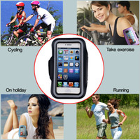Wholesale Stylish WaterProof Sport Gym Running Armband Protector Soft Pouch Case Cover For For Apple iphone G Plus Inch s C S