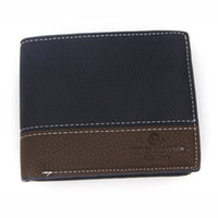 Wholesale 2014 new fashion mens leather quality wallets designer card holder purse wallet for men Multicolor