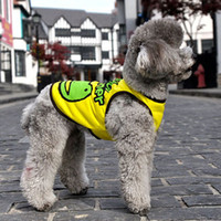 Cheap Pet Dog Clothes Polo Shirt Puppy Doggie Summer Cool Frog Vest Size S-XXL New For Free Shipping