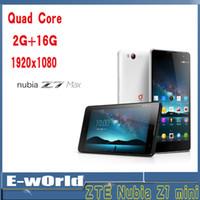 WCDMA Quad Core Android ZTE Nubia Z7 Mini WCDMA CDMA 4G FDD-LTE Phone 5.0-inch IPS Diaplay Snapdragon 801 MSM8974AA 2.0GHz 2GRAM+16GROM 13MP Camera