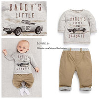 Spring / Autumn baby boy clothes - Child Suit Infant Outfits Boy Suit Toddler Clothes Kid Long Sleeve T Shirt Boys Long Trousers Baby Clothing Children Set Kids Suit Outfits