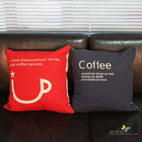 Wholesale Two Designs Square Linen Bolster Cover without Pillow Inner Fashion Home Textile Pillow Case JH020231