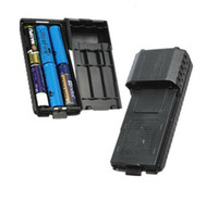 Wholesale Brand New BAOFENG UV R Long Battery Case For UV R UV RB UV RE Plus TYT TH F8 Handheld Two Way Radio Support AA Battery