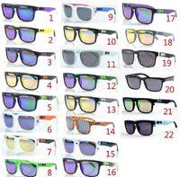 Wholesale 21 models SPY KEN BLOCK HELM Cycling Sports Sunglasses Outdoor Sun glasses Brand Black Skin Snake SPY OPTIC HELM Ken Block AAA good quality
