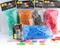 Cheap Pearl color rainbow rubber band!DIY weave bracelets!(600 pcs rubber band),Rainbow loom,charm bracelets accessories,fashion jewellery.C