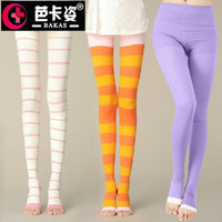 Women Sexy Over Knee Stovepipe pants Anti varicose stockings pantyhose wholesale sleep sleep spring and summer trade of the original single socks
