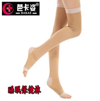 Women Over Knee Spot Wholesale genuine fat burning sleep health socks barreled anti- varicose stockings medical compression stockings color socks to sleep