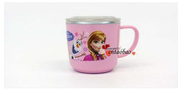 Wholesale 2014 brand new the glass frozen cup Movie frozenc142 anna and elsa princess MOQ