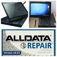 Wholesale 2016 alldata with Mitchell software workshop car repair program TB HDD installed on x200t laptop ready to work