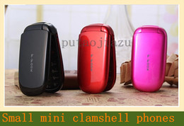 Wholesale Vogue of new fund of clamshell mobile phones Small colorful mini clamshell mobile phones
