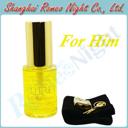 Wholesale Lure Precious Irresistible Pheromone Golden Scent Sex Perfume for HIM Erotic Sex Toys Adult Sex Products