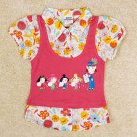 Girl Winter Standard Girl T shirts Nova Child Summer Cartoon My Little Kingdom Baby Clothes Girls t-shirts Children Brand Girl Cotton shirt