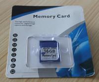 100% 16GB réel SD HC Carte mémoire Véritable originale pleine capacité 16GB Secure Digital High Capacity SDHC carte mémoire flash pour appareil photo Canon