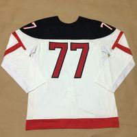 Wholesale New Arrival Ice Hockey Uniforms Cheap Outdoor Jersey CARTER White th Anniversary Celebration Hockey Jerseys