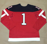 Wholesale 1914 Canadians th Anniversary LUONGO Red Cheap Outdoor Hockey Jersey Ice Hockey Players Sports Uniform All Team Athletic Apparel