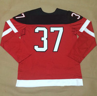 Wholesale Team CA Team Sports Jerseys for Sale Bergeron Red th Anniversary Celebration Hockey Jerseys