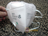 Wholesale 50pcs M N95 Particulate Respirator DUST Face MASK filter individually wrapped in stock
