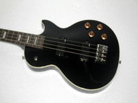 Wholesale Black Strings LP Electric Bass Guitars High Quality Musical instruments HOT