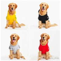 Wholesale 2014 New Cotto Big Dog Clothes Large Dog Clothes Pet Sports Hoodie Jumper Coat Size XL XL XL XL XL XL Promotion