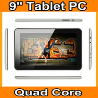 Wholesale NEW Arrival quot A33 Quad Core CPU Android GB NAND Flash Dual Cameras WIFI inch tablet pc JBD