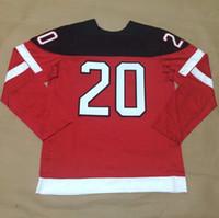 Wholesale Cheap New Arrival Ice Hockey Uniforms Discount Sport Jerseys CARTER Red th Anniversary Celebration Hockey Jerseys
