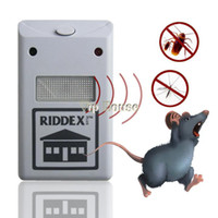 Wholesale 1PCS Ultrasonic Electric Pest Repeller Reject Mosquito Killer Rat Mouse Insect Repellent Pest Helminthes Housekeeper SV001561