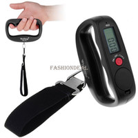 Wholesale New Kg g LCD Electronic Portable Hanging Luggage Weight Digital Scale SV000059