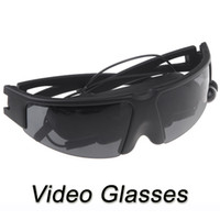 Wholesale Radiation free LCD Eyewear Virtual inch Large Screen Video Glasses for PS2 PS3 XBOX Wii movies cenima