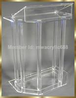 Wholesale Beautiful Acrylic Podium Pulpit Lectern
