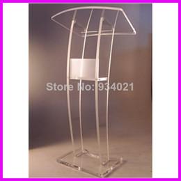 Wholesale Practical Modern Design Acrylic Podium Pulpit Furniture