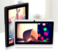 Wholesale 7 inch A23 tablet pc Allwinner A23 dual core Dual camera Tablet PC Allwinner MB RAM GB ROM Touch Screen Tablet PC