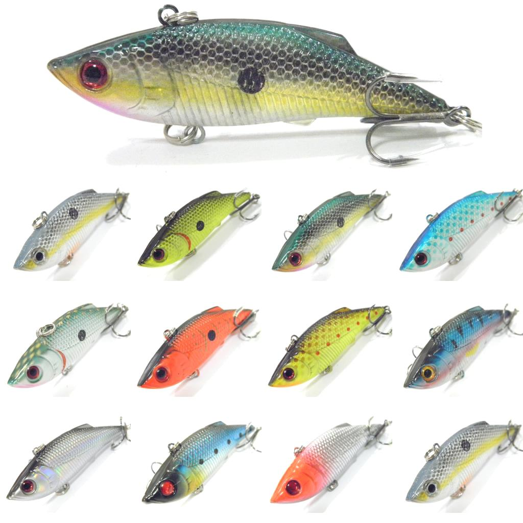 Fishing lures lipless trap must have bass walleye crappie for Best bait for freshwater fishing