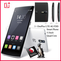 Wholesale Original OnePlus LTE G FDD Smart Phone inch Quad Core Qualcomm Snapdragon FHD X1080 GHz G RAM G G ROM