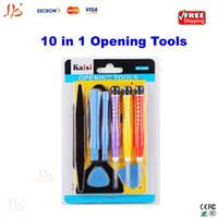 Wholesale Free ship KAISI in Opening Tool Screwdriver Repair Kit Set screws mat screwmat for iPhone S iPad