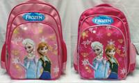 Wholesale 10pcs Hot Sale Softback Below Litre Tactical Backpack Frozen Bag New Frozen Backpack School Bag Primary Cartoon Girl