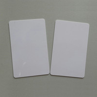 Wholesale China blank IC card MHZ RFID smart chip card compatible Mifare s50 k card