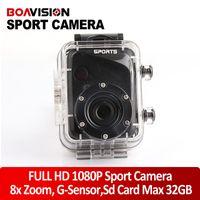 Wholesale NEW mini Sport Camera FULL HD P Action Digital Video Camera dv With Waterproof Sport Camera F40 Mini G Senor Camcorder