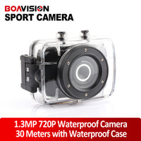 Wholesale 720P Waterproof camera Full HD Mini Video Camera F5B Sport action camera M underWater waterproof camera MP CMOS Sensor