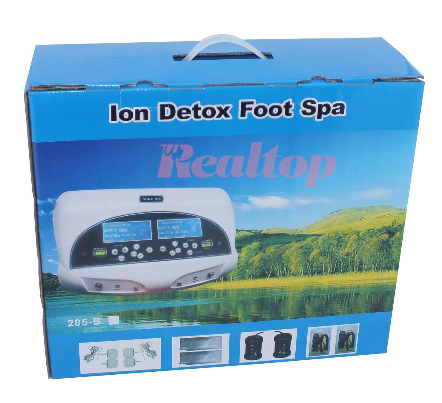 ionic foot bath detox machine reviews