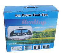 110V,220V bath cleanse - Dual Detox Ionic Foot Bath Spa Cleanse CH8811H