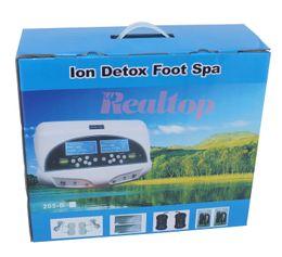 Wholesale Dual Detox Ionic Foot Bath Spa Cleanse CH8811H